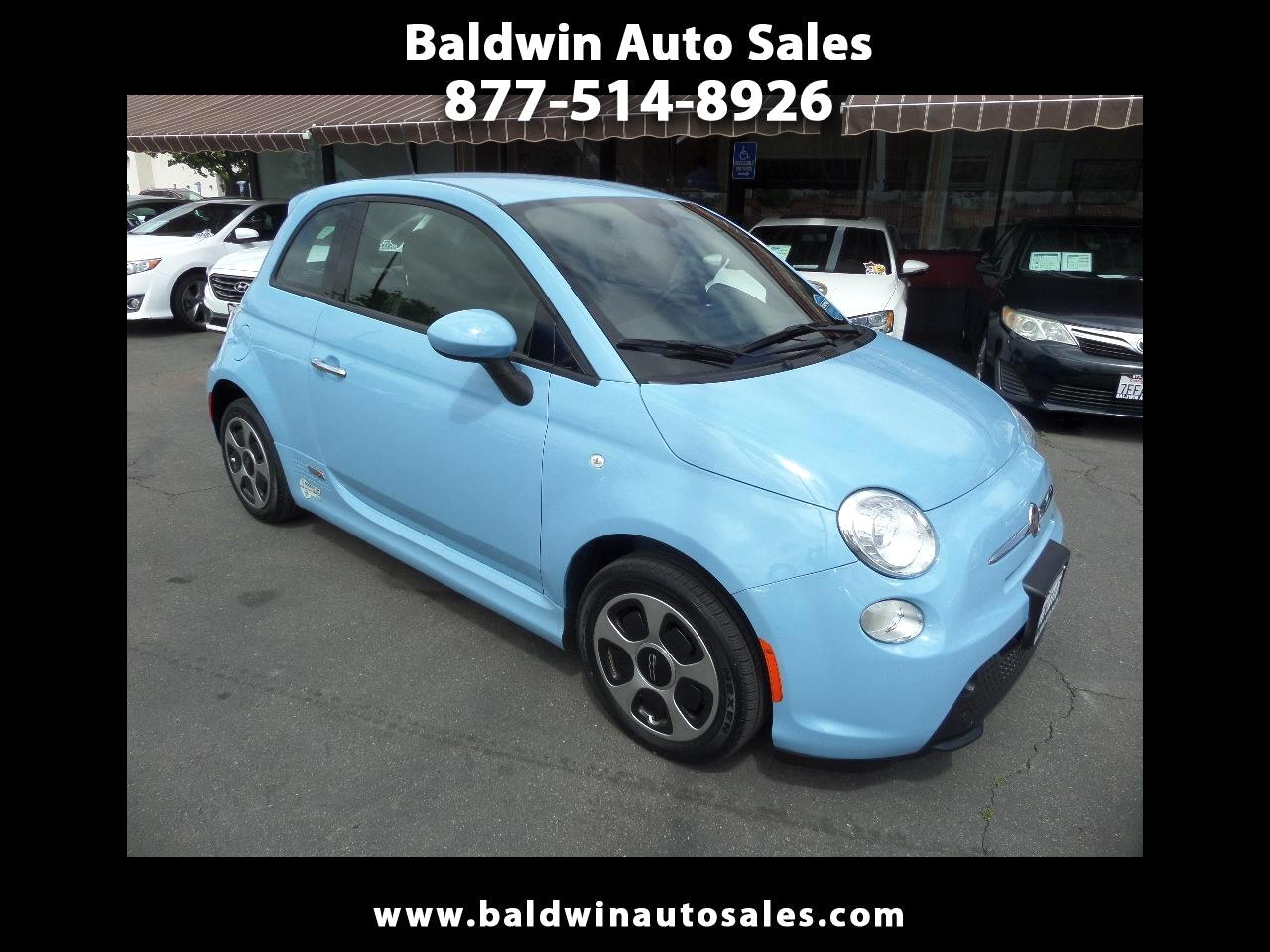 2015 Fiat 500e 2dr HB BATTERY ELECTRIC