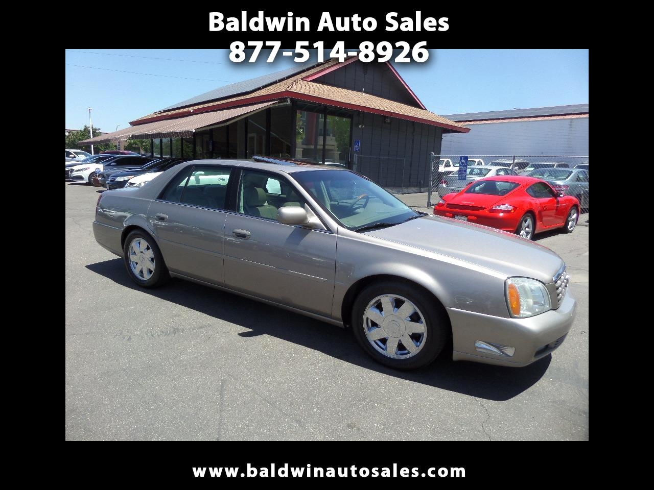 Cadillac DeVille 4dr Sdn DTS 2003