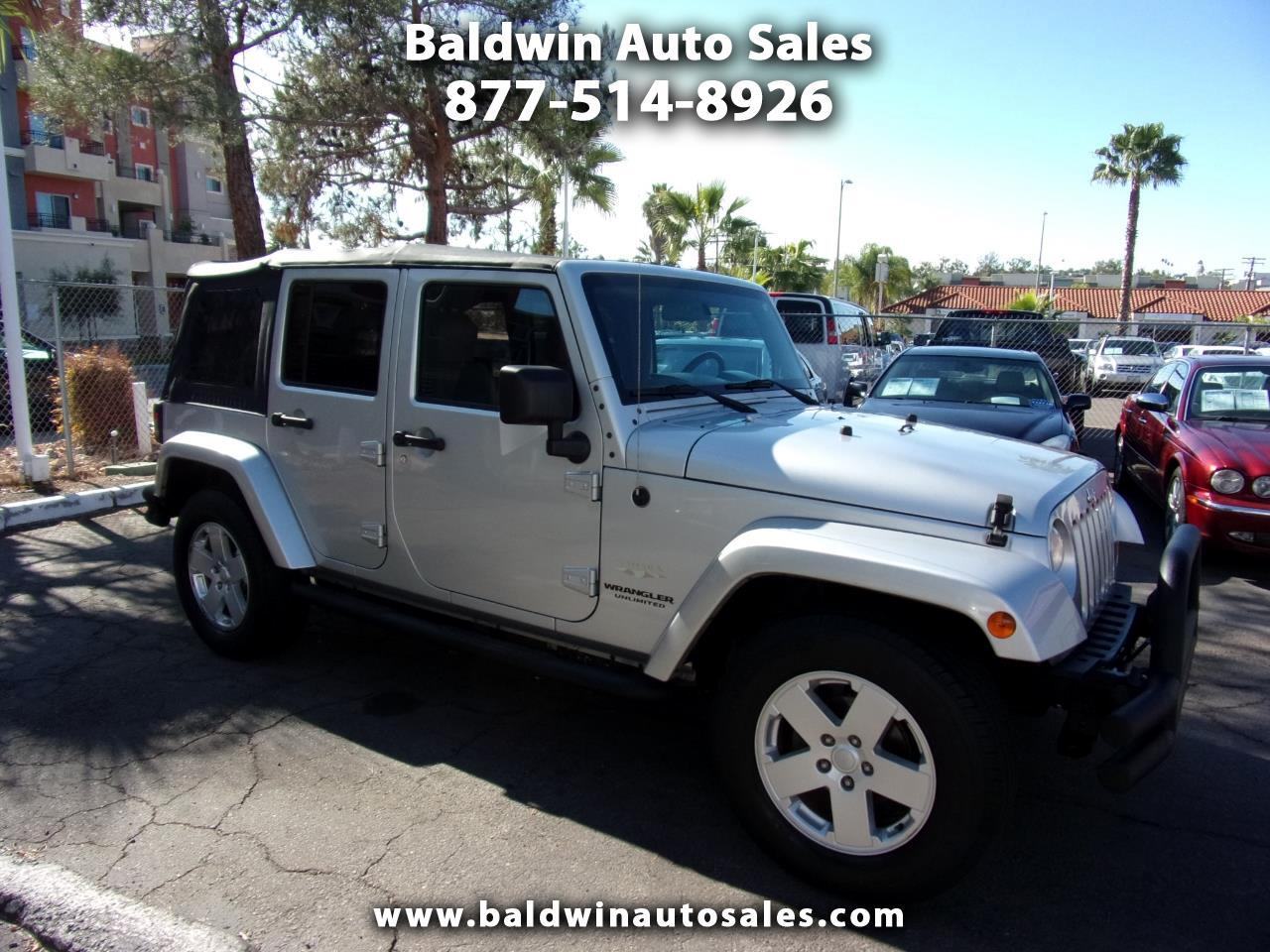 Jeep Wrangler 2WD 4dr Unlimited Sahara 2007