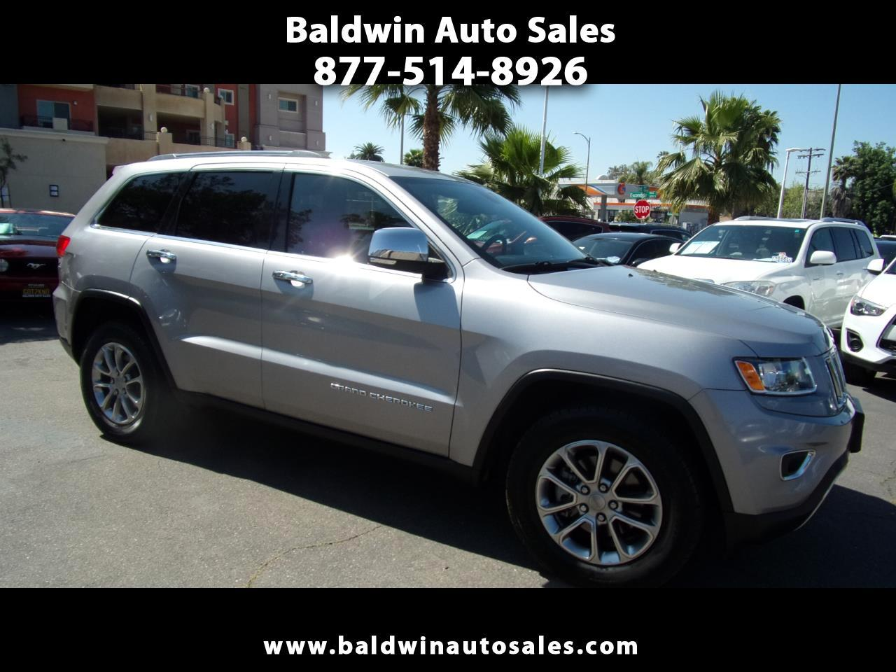 Jeep Grand Cherokee RWD 4dr Limited 2015