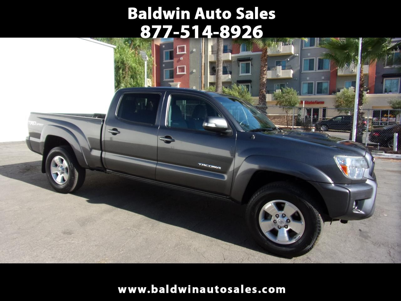 Toyota Tacoma 2WD Double Cab LB V6 AT PreRunner (Natl) 2014