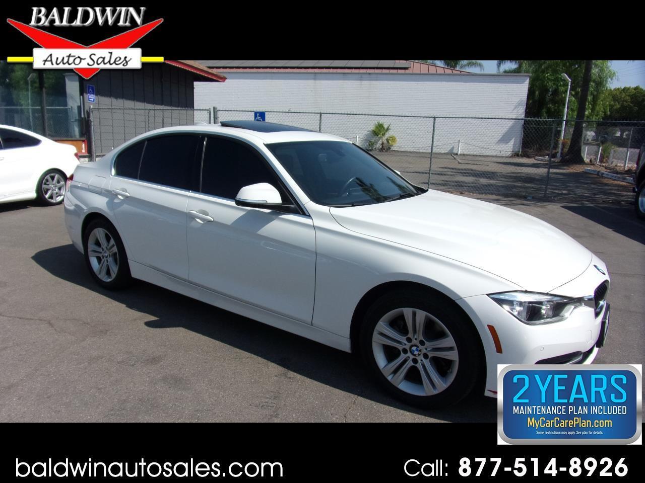BMW 3 Series 330i Sedan 2017