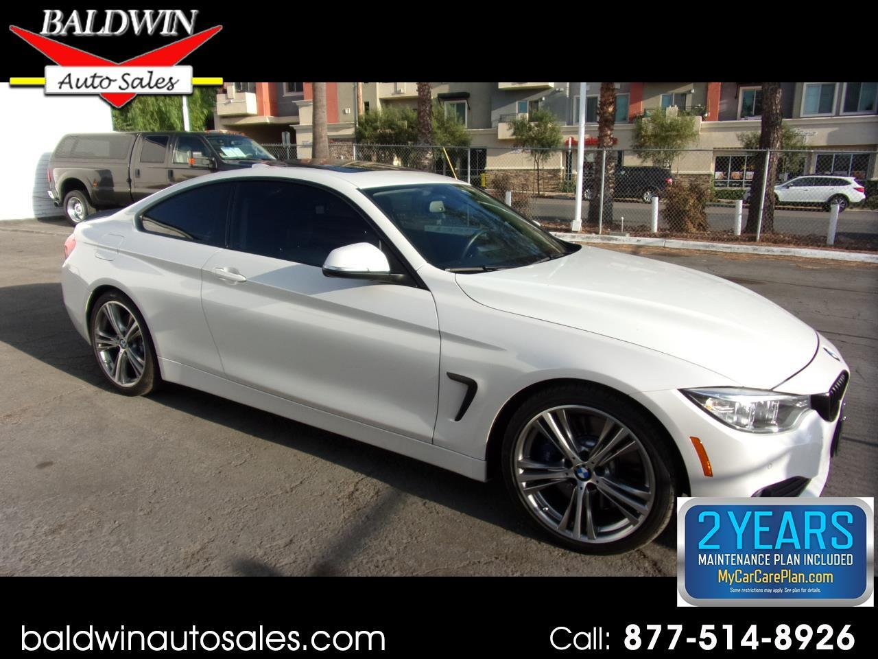BMW 4 Series 2dr Cpe 435i RWD 2015