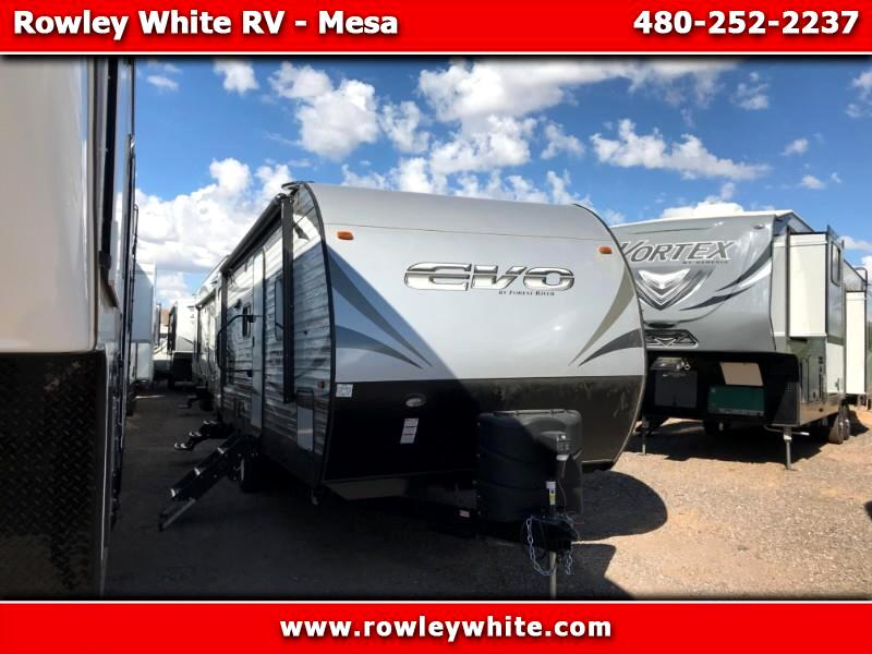 2019 Forest River EVO (Lightweight Travel Trailer) T2490