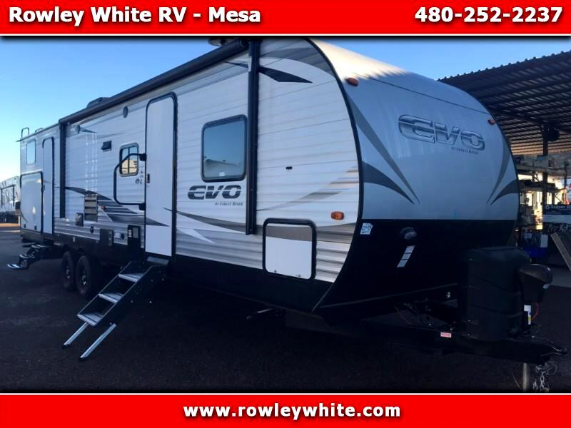 2019 Forest River EVO (Lightweight Travel Trailer) T3250