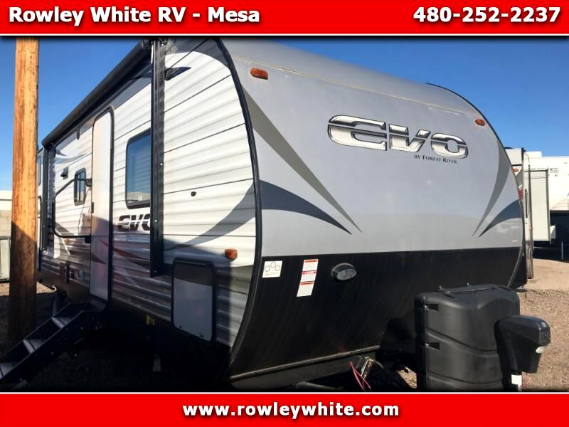 2019 Forest River EVO (Lightweight Travel Trailer) T2550