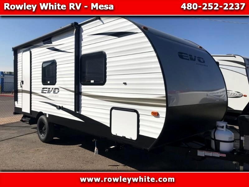 2019 Forest River EVO (Lightweight Travel Trailer) T177FQFS