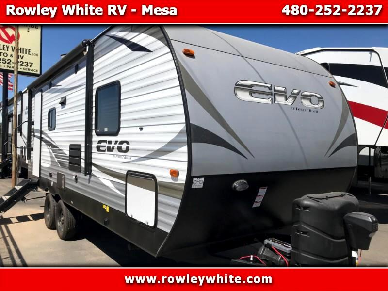 2019 Forest River EVO (Lightweight Travel Trailer) T2160