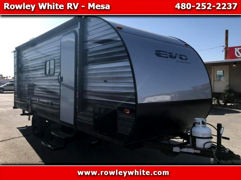 2020 Forest River EVO (Lightweight Travel Trailer) T197SSFS