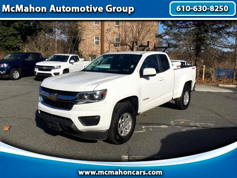 Chevrolet Colorado Work Truck Ext. Cab 4WD 2017