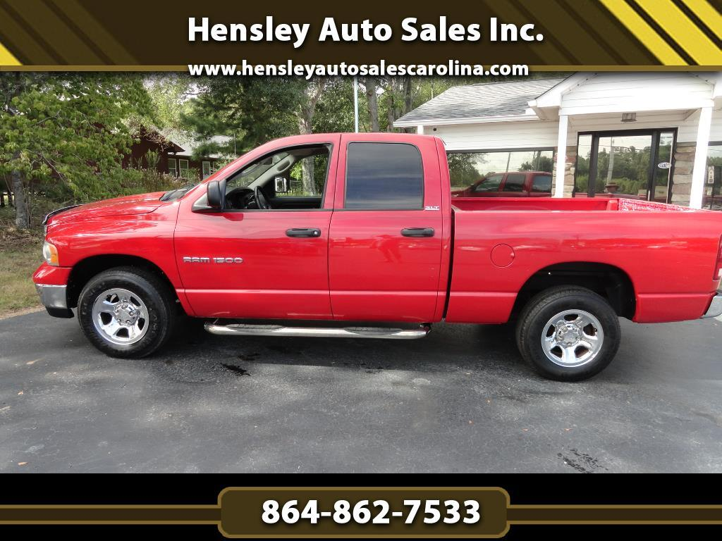 2005 Dodge Ram 1500 SLT Quad Cab Short Bed 2WD