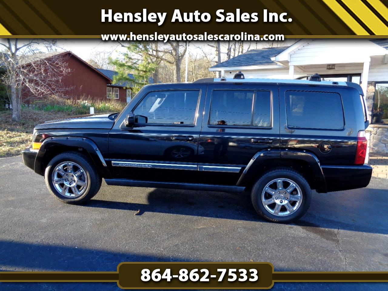 2010 Jeep Commander Limited RWD