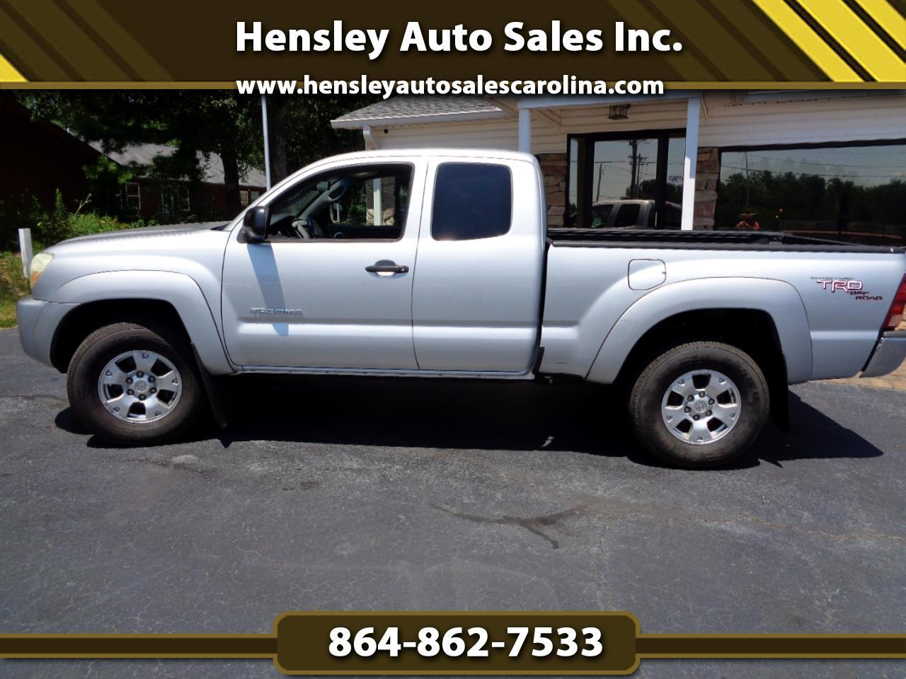 2006 Toyota Tacoma 4WD TRD Off Road Access Cab 6' Bed V6 AT (Natl)