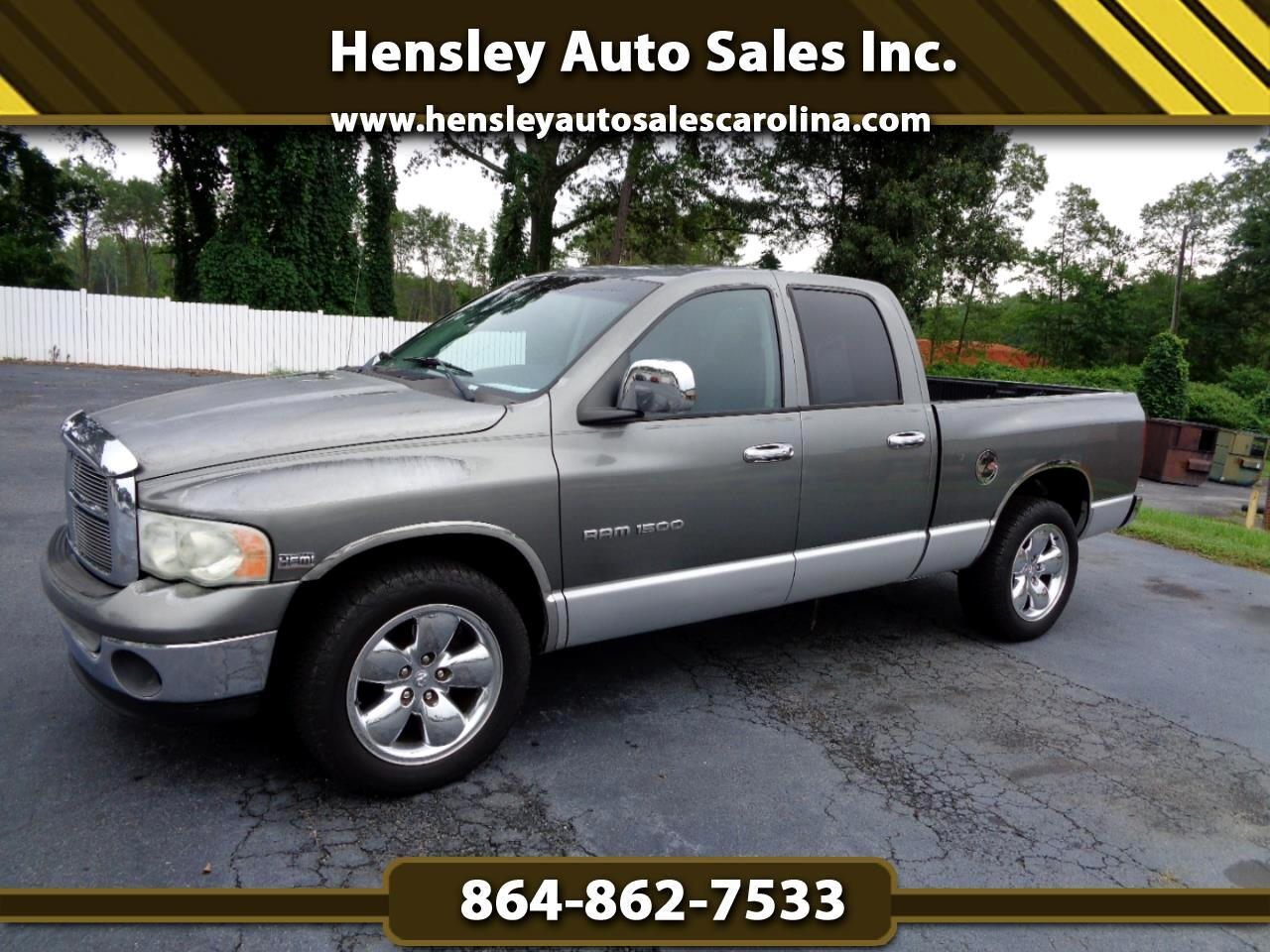 Dodge Ram 1500 Laramie Quad Cab Short Bed 2WD 2005