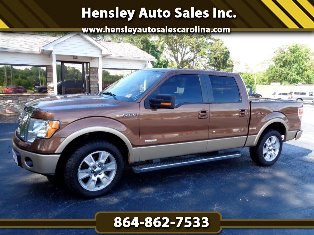 """Ford F-150 2WD SuperCrew 145"""" Lariat Limited 2012"""
