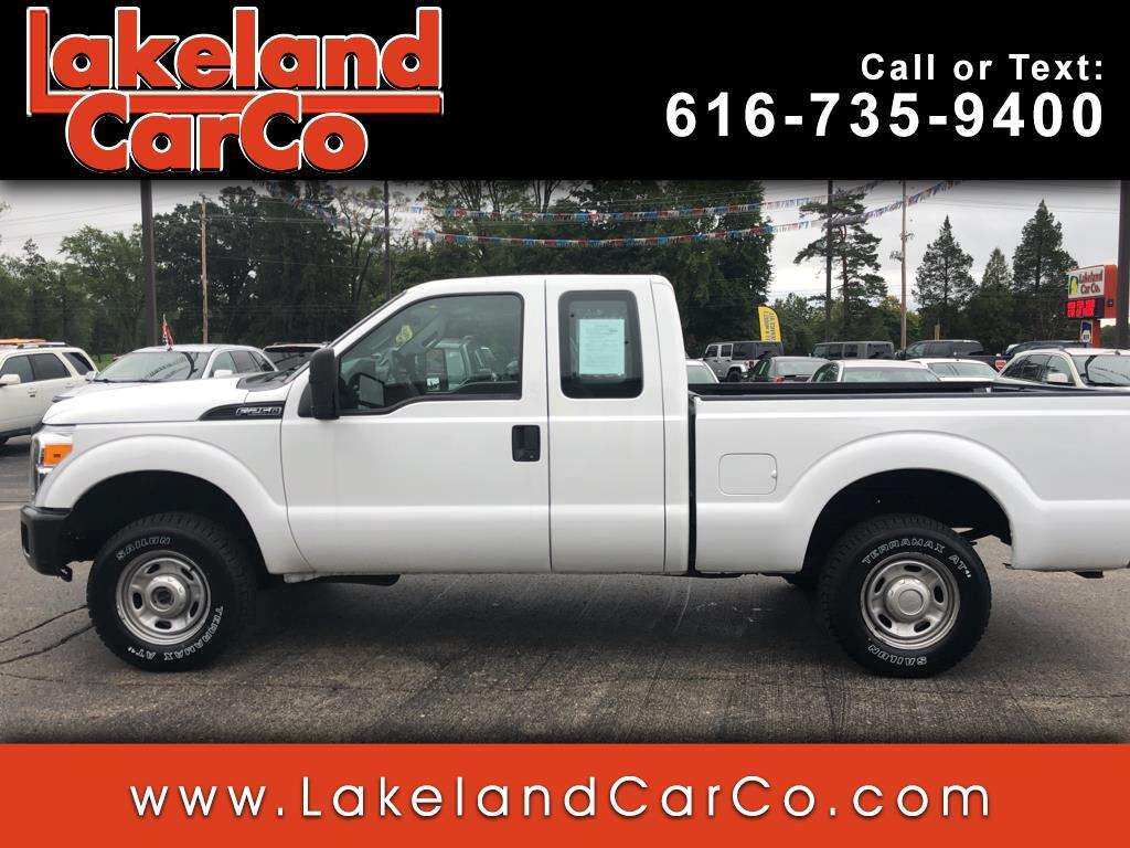 2012 Ford F-250 SD XL SuperCab Long Bed 4WD