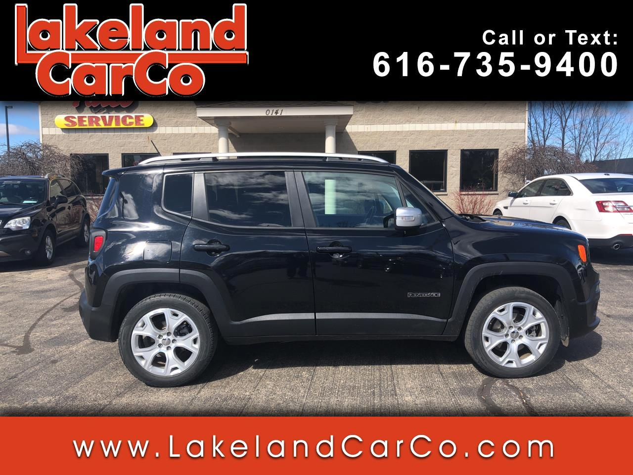 2015 Jeep Renegade 4WD 4dr Limited