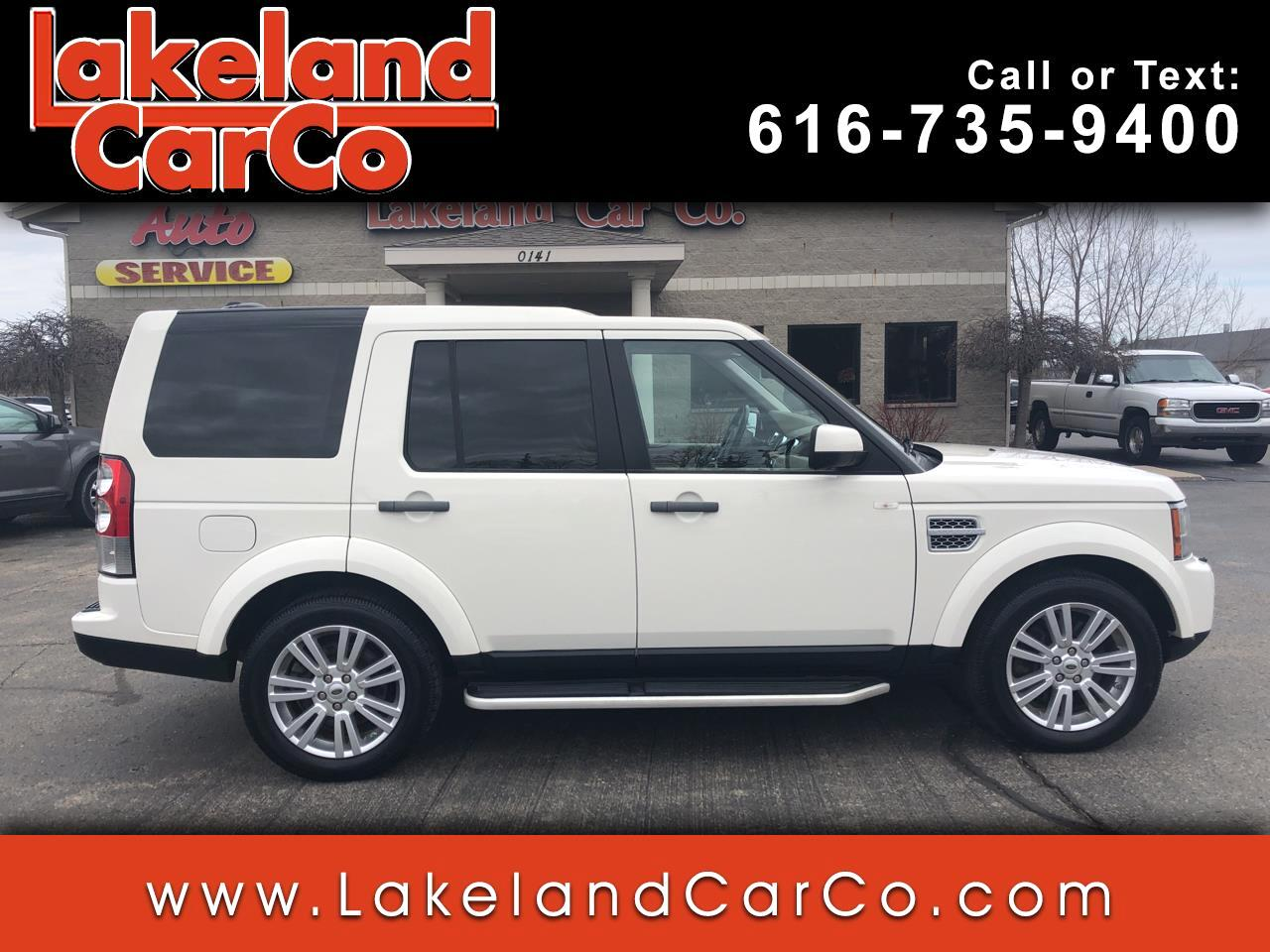 2010 Land Rover LR4 4WD 4dr HSE