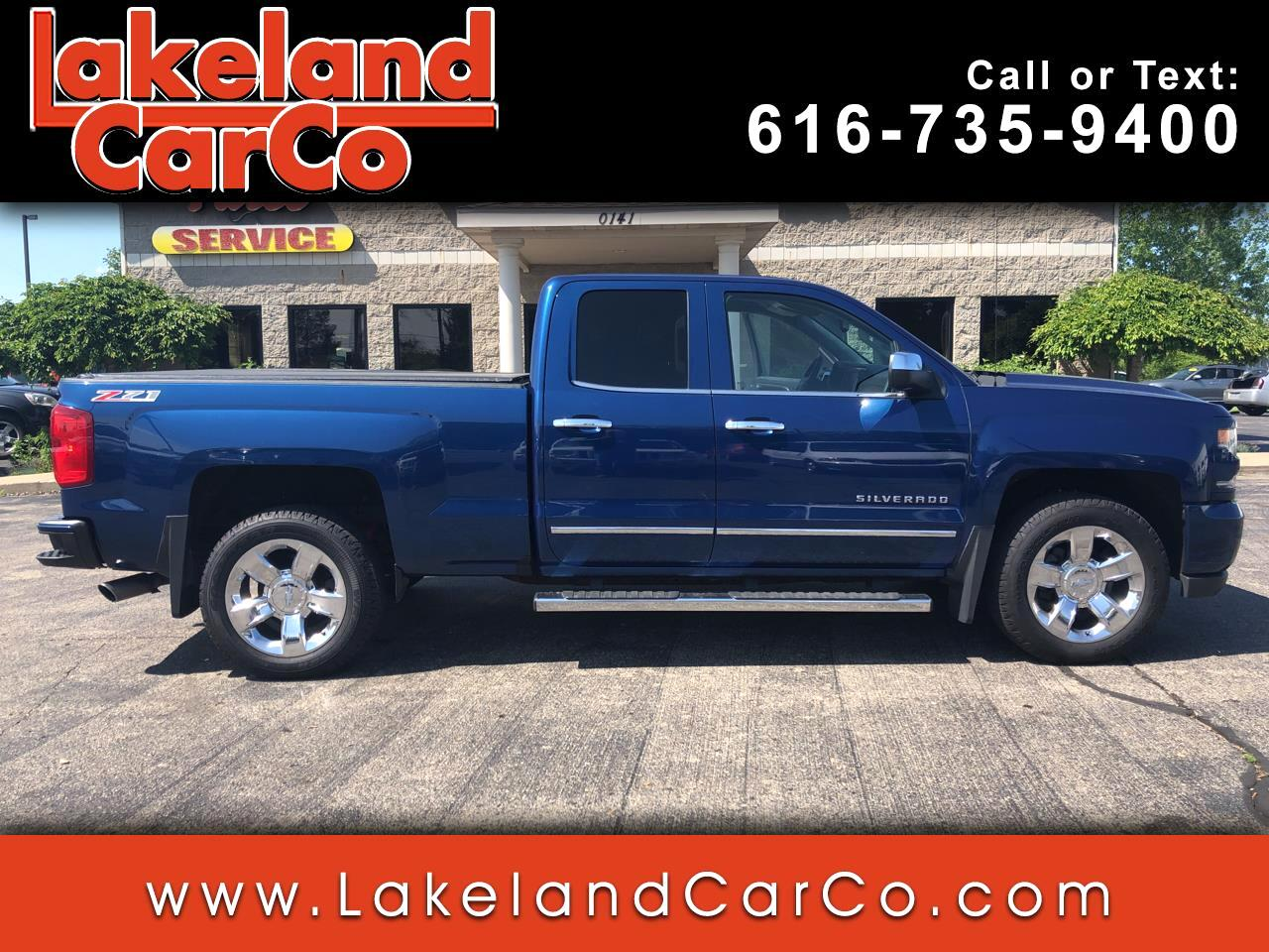 2016 Chevrolet Silverado 1500 LTZ Double Cab Short Box 4WD