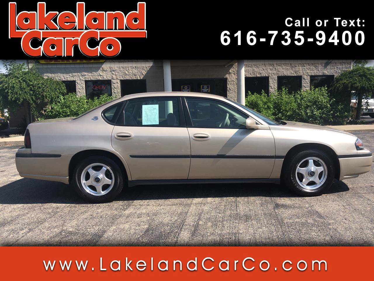 2005 Chevrolet Impala 4dr Sdn Unmarked Police Pkg 9C3