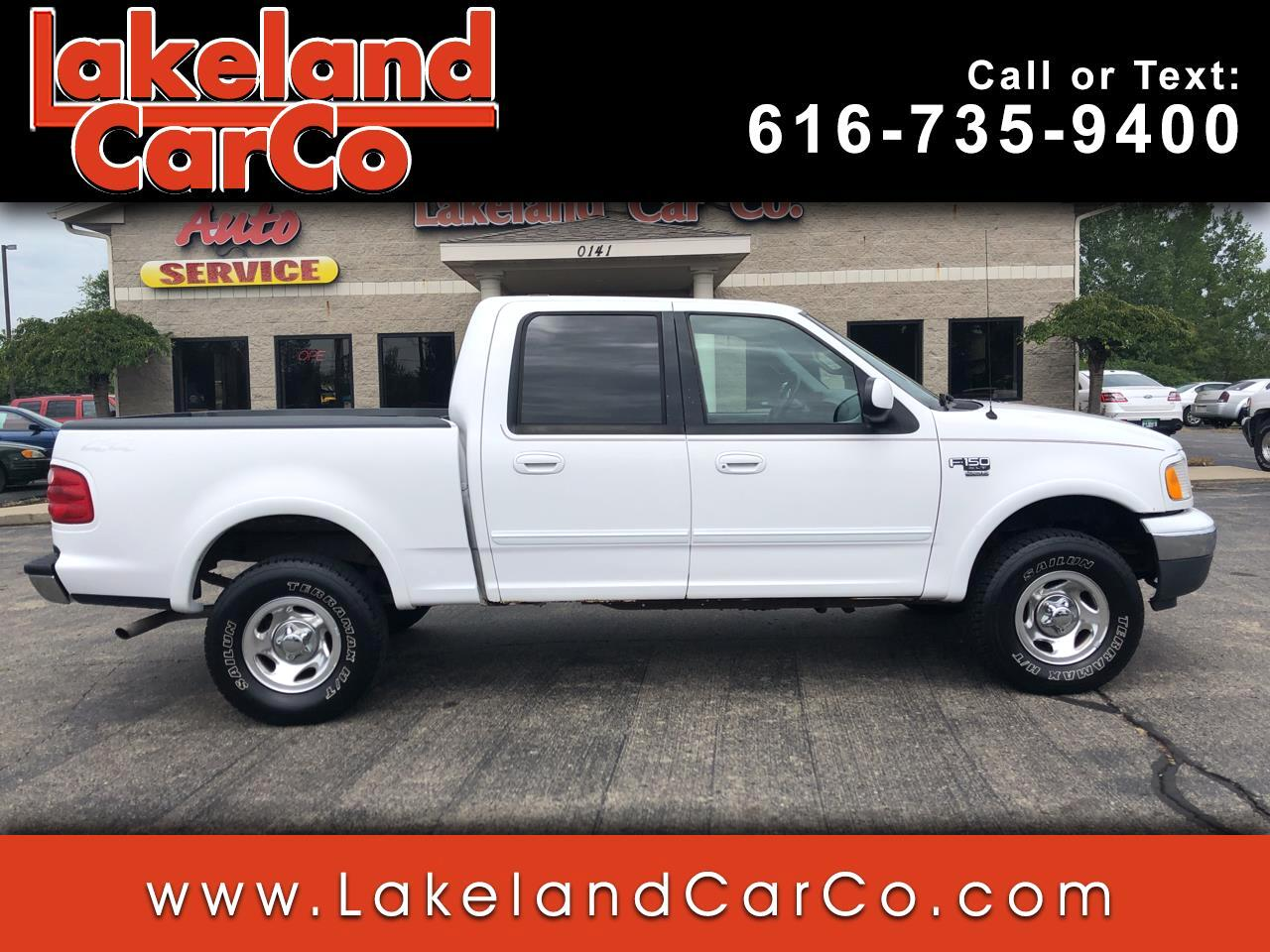 "2001 Ford F-150 4WD SuperCrew 145"" XLT"