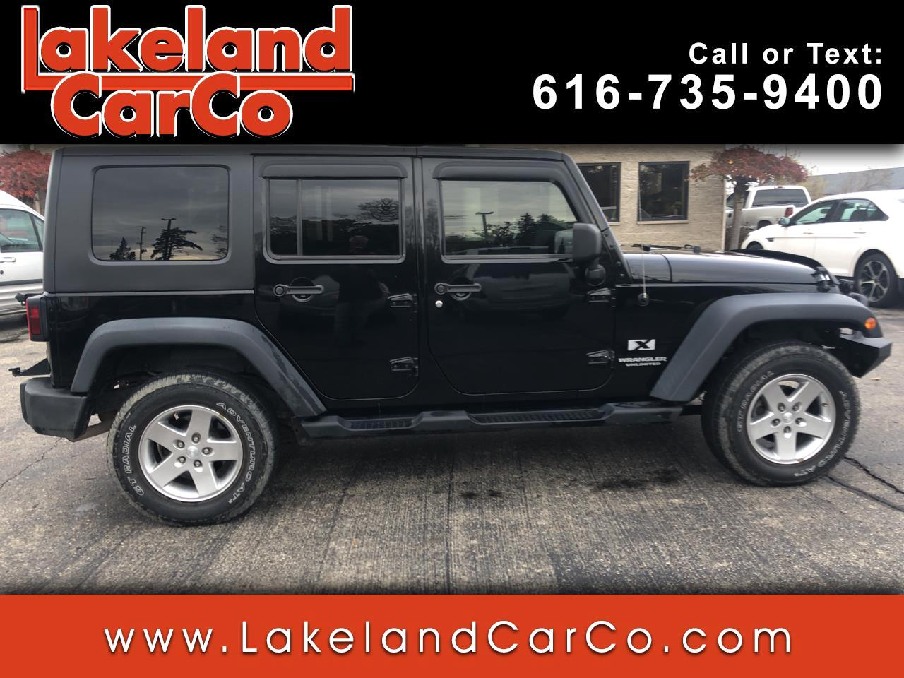 2007 Jeep Wrangler Unlimited 4WD 4dr X
