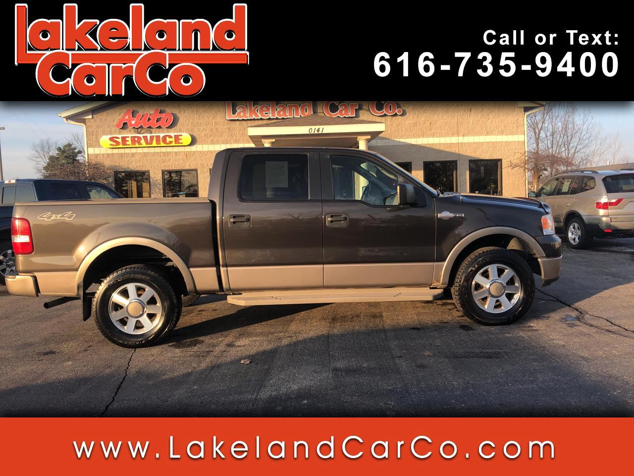 "Ford F-150 4WD SuperCrew 139"" King Ranch 2005"