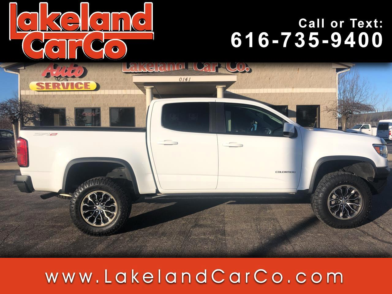 Chevrolet Colorado ZR2 Crew Cab 4WD Short Box 2018