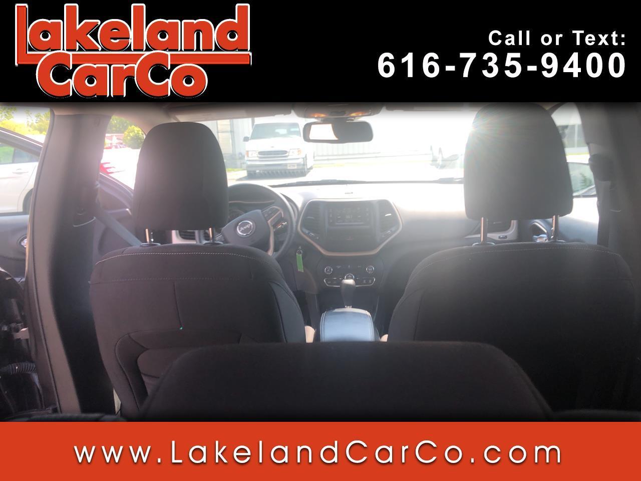 Jeep Cherokee 4WD 4dr Latitude 2015