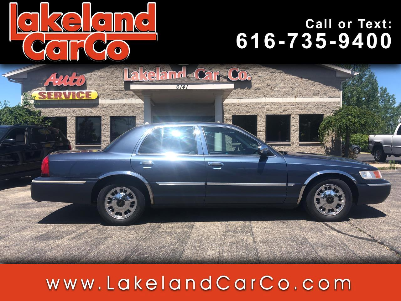 Mercury Grand Marquis 4dr Sdn GS 1998