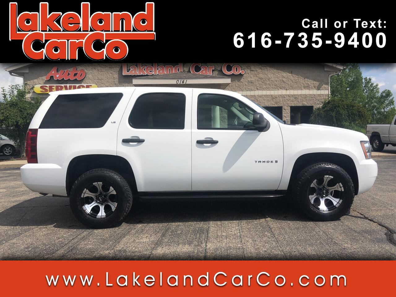 Chevrolet Tahoe 4WD 4dr 1500 Commercial 2008