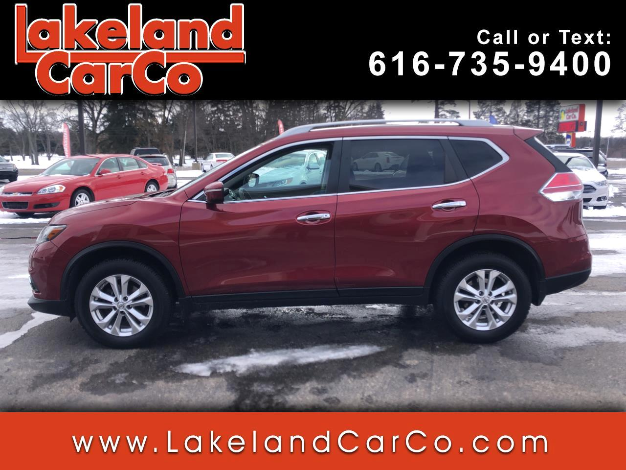 Nissan Rogue AWD 4dr SV 2015