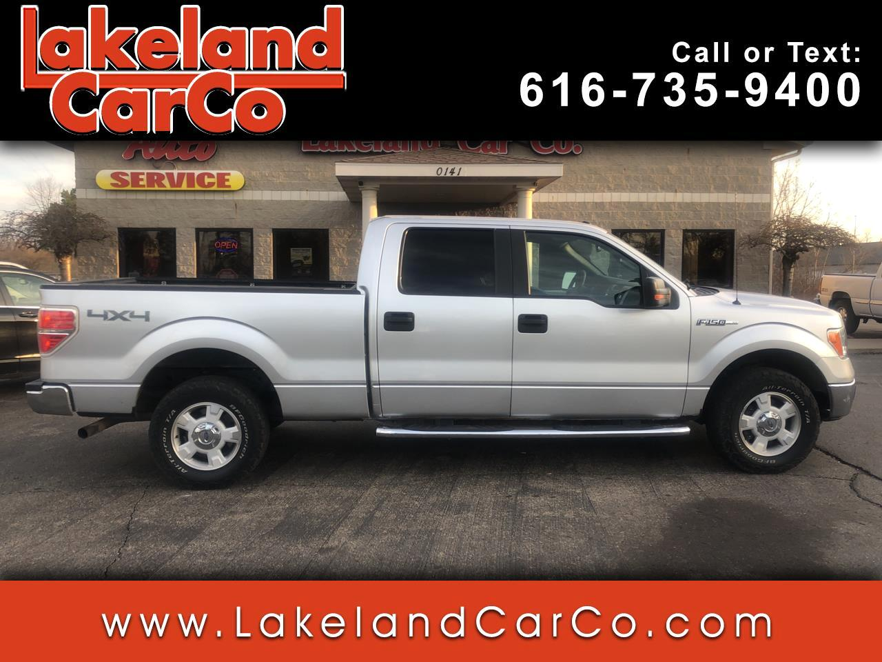 "Ford F-150 4WD SuperCrew 145"" Platinum 2011"