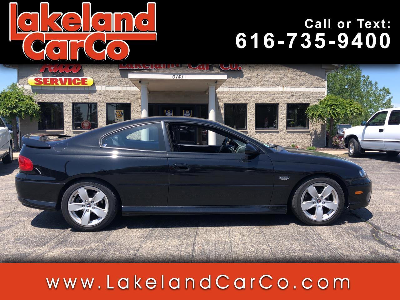 Pontiac GTO 2dr Cpe 2004