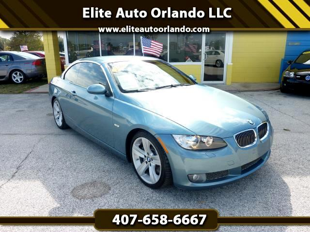 2008 BMW 3-Series 335i Hardtop Convertible with Navigation System