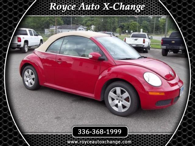 2007 Volkswagen New Beetle 2.5L Convertible