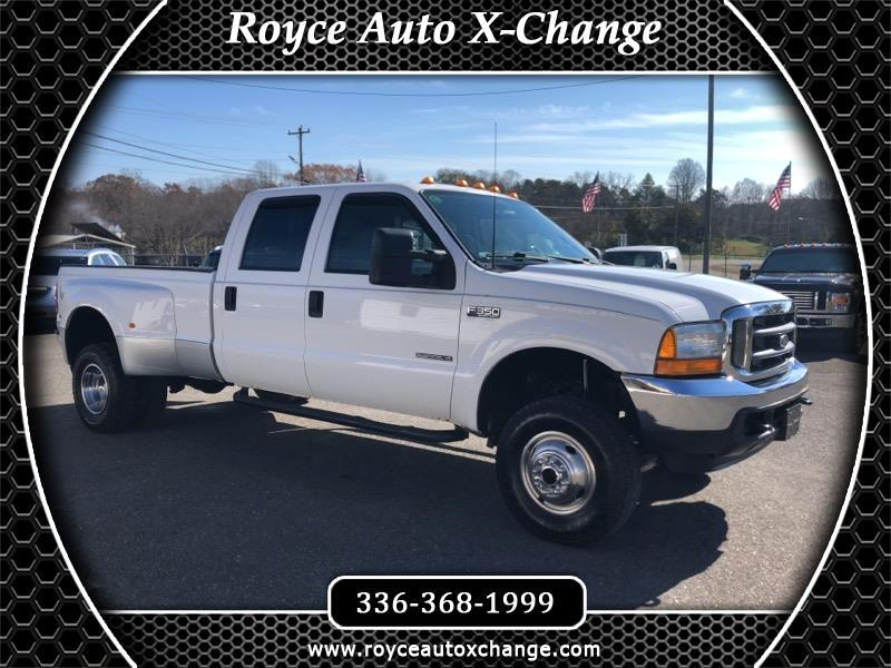 2001 Ford F-350 SD XL Crew Cab Long Bed 4WD DRW