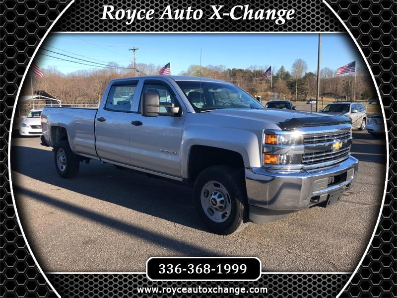 2015 Chevrolet Silverado 2500HD Crew Cab Long Bed 4WD