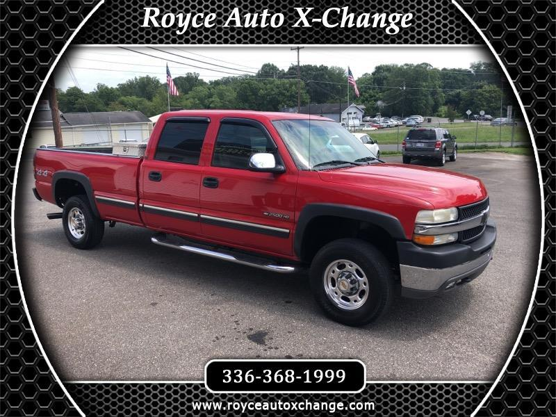 2002 Chevrolet Silverado 2500HD LT Crew Cab Long Bed 4WD