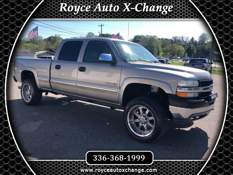 Chevrolet Silverado 2500HD LT Crew Cab Short Bed 4WD 2002