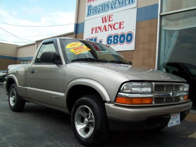 2003 Chevrolet S10 Pickup 2WD