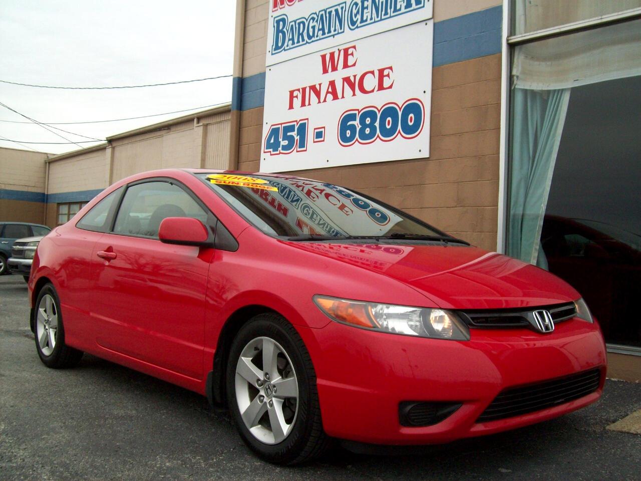 2008 Honda Civic EX Coupe AT