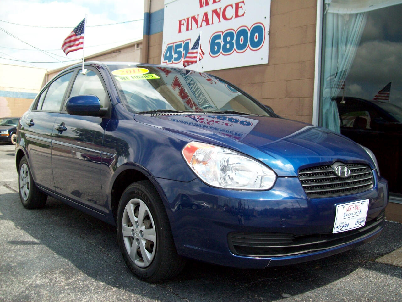 2011 Hyundai Accent GLS 4-Door