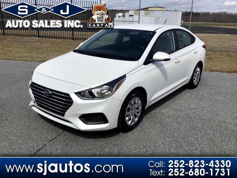 Hyundai Accent SE 4-Door 6A 2019