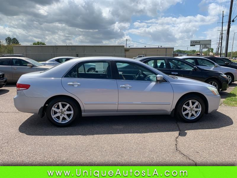 2004 Honda Accord EX V-6 Sedan AT with XM Radio