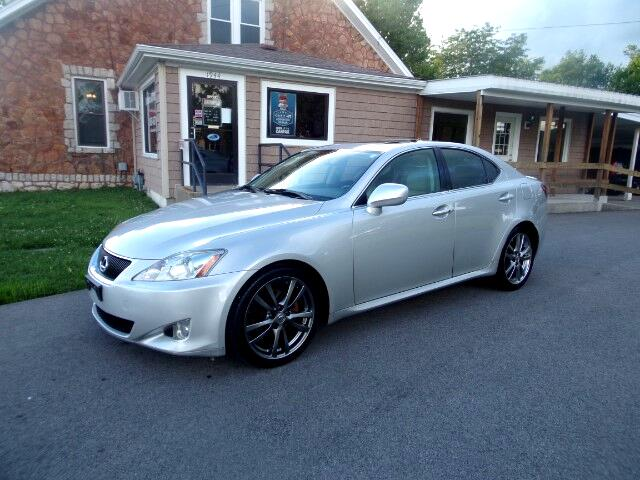 2008 Lexus IS IS 250 6-Speed Sequential