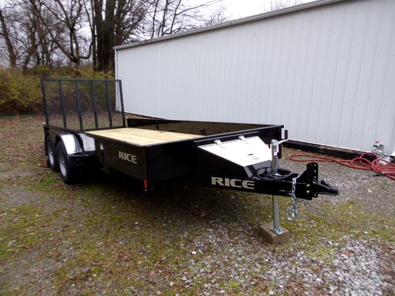 2019 Rice Stealth Tandem Axle Utility