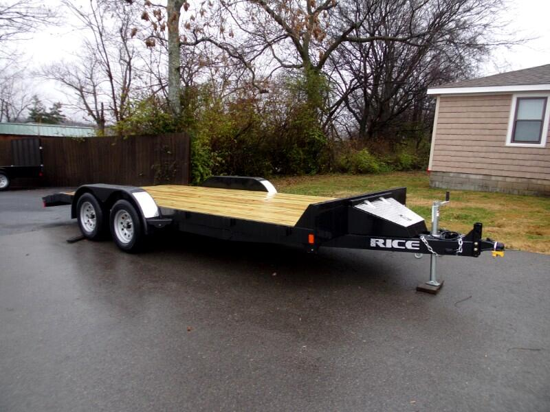 2019 Rice 7K Magnum FLatbed Car Hauler