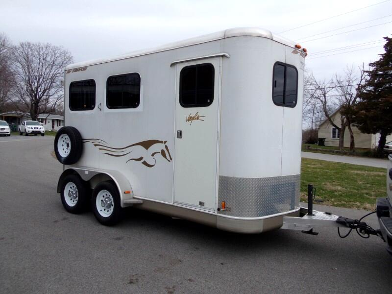2004 Merhow 2 Horse All Aluminum Very Light Slant Load