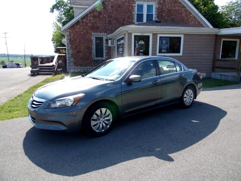 2012 Honda Accord LX sedan AT